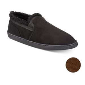 Gold Toe | Men's Twin Gore Faux-Suede Slippers